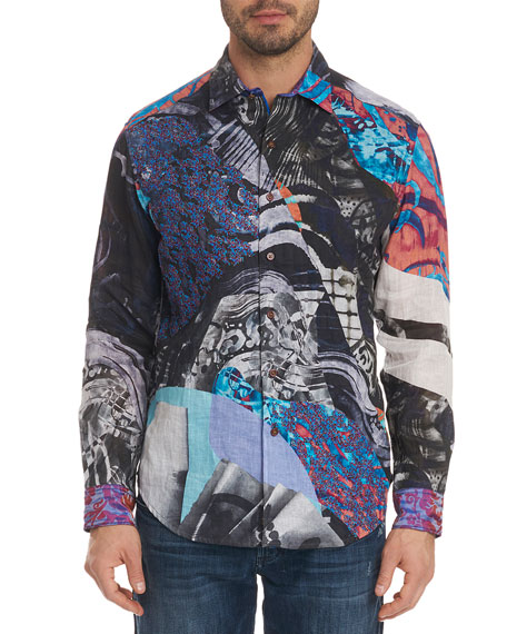 Men's Hooked On You Limited Edition Classic Fit Graphic Sport Shirt