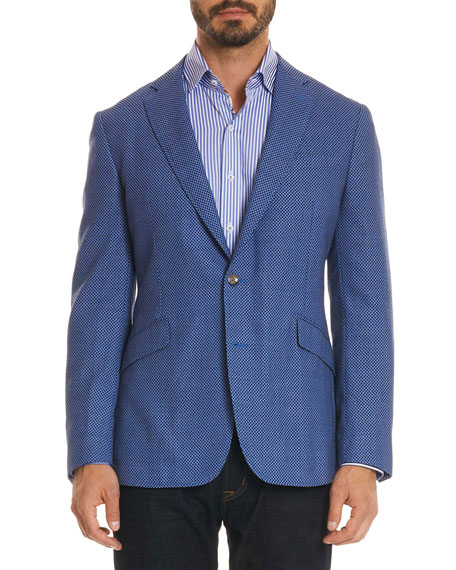Men's Olsen Diamond Design Sport Coat