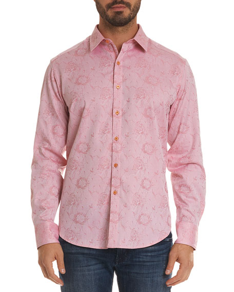 Robert Graham Men's Gilberts Classic Fit Jacquard Sport