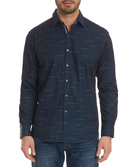 Robert Graham Men's Port Vila Classic Fit Chambray
