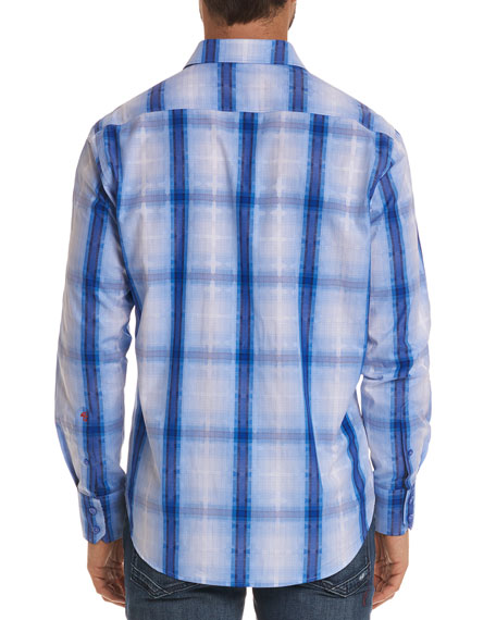 Men's Tonga Classic Fit Plaid Sport Shirt