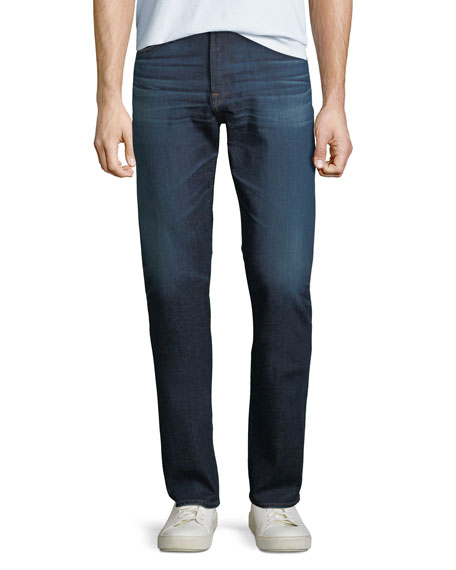 AG Adriano Goldschmied Men's Everett Slim Straight-Leg Jeans