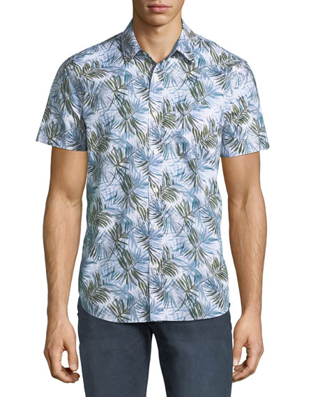 AG Men's Nash Short-Sleeve Sport Shirt