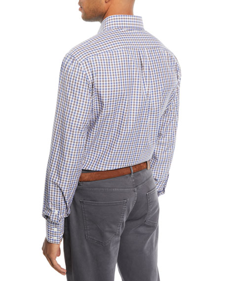 Men's Micro-Check Sport Shirt