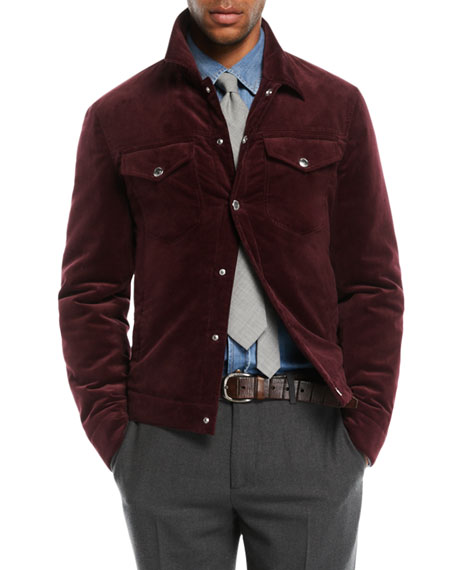Men's Corduroy Utility Jacket