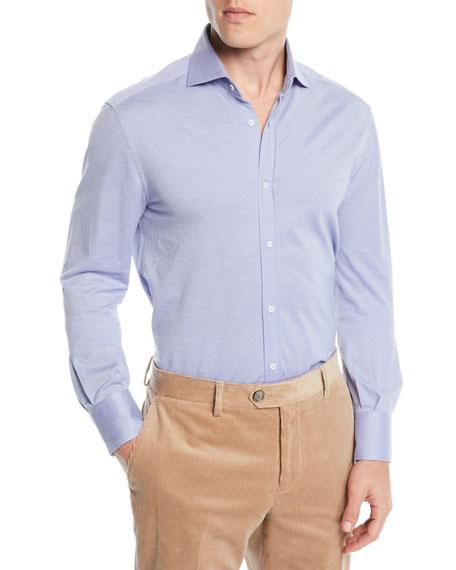 Men's Basic-Fit Pique Sport Shirt