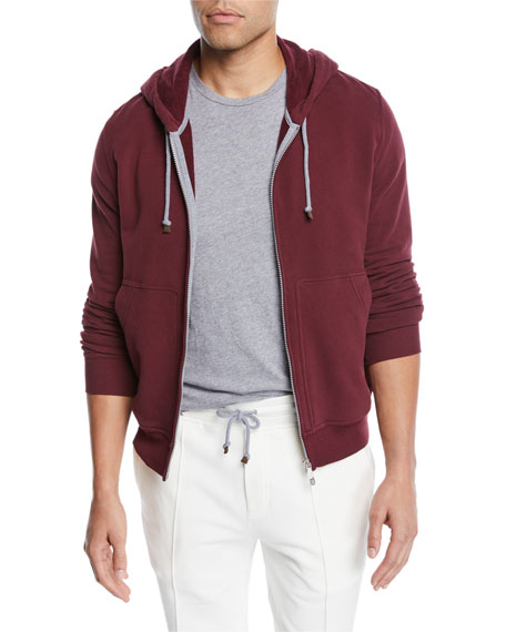 Men's Spa Cotton-Stretch Hoodie Sweatshirt