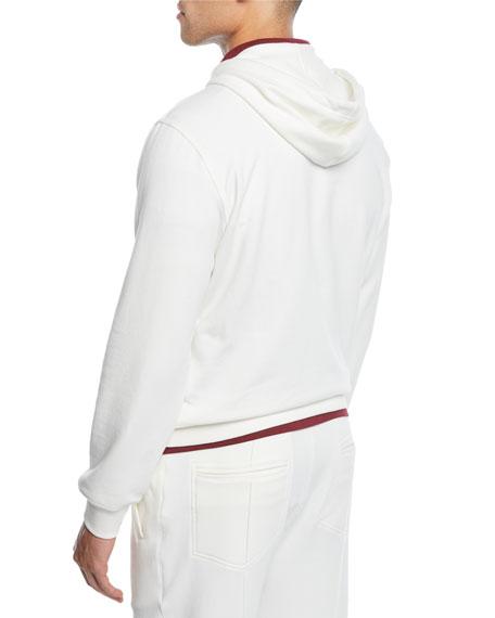 Men's Spa Cotton-Stretch Hoodie Sweatshirt