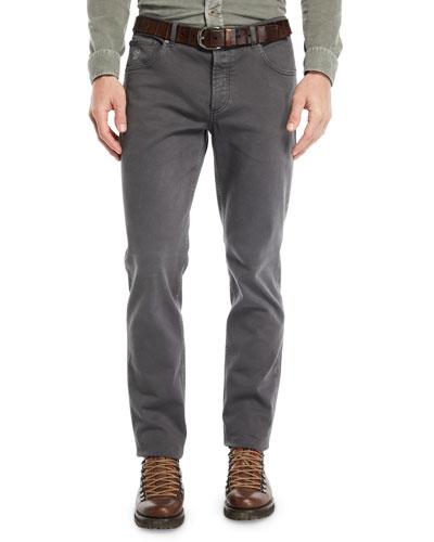Men's Straight-Leg Denim Pants