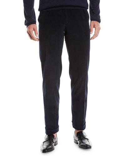 Men's Pinwale Corduroy Dress Pants
