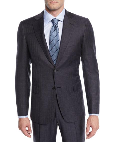 Brioni Men's Striped Two-Piece Wool Suit