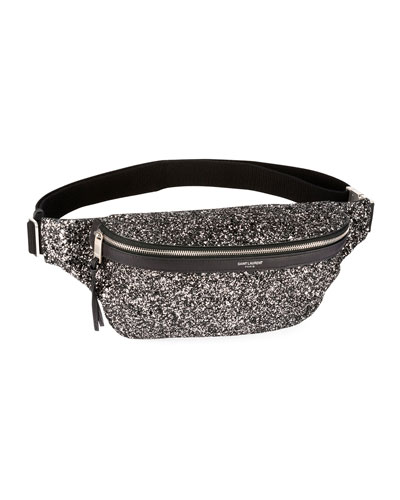 Men's Glitter Belt Bag