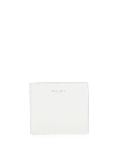 Men's YSL Leather Billfold Wallet