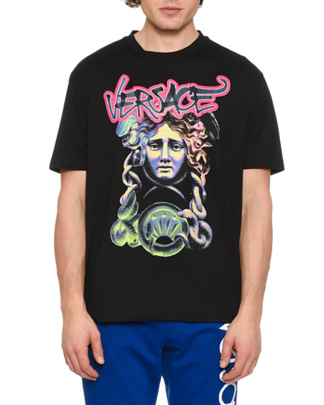Men's Medusa Head Graphic T-Shirt