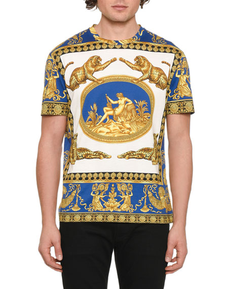 Versace Men's Graphic Jersey T-Shirt