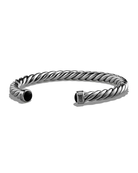 David Yurman Men's Cable Classic Cuff Bracelet w/