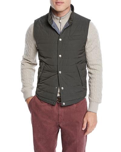 Men's Lightweight Padded Vest