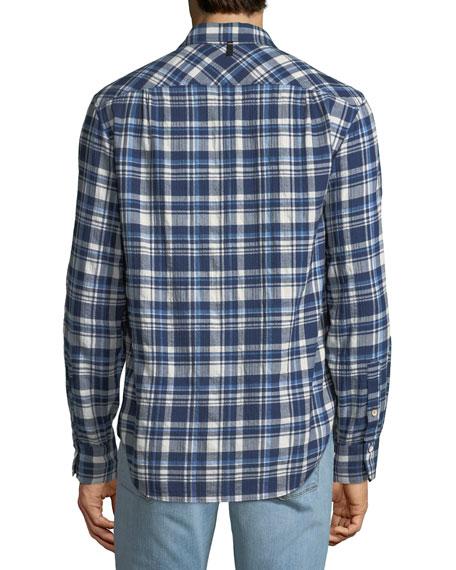 Men's Fit 3 Plaid Beach Shirt
