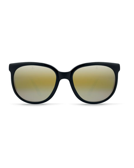 Men's Legend 02 Round Nylon Sunglasses