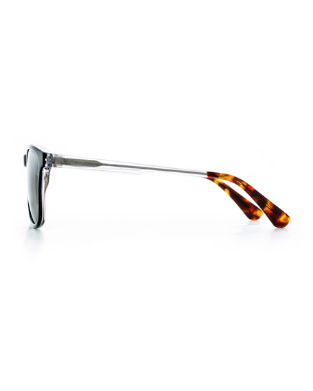 Men's District Medium Square Acetate Sunglasses