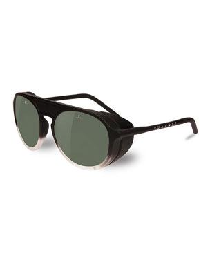 6f634ff74f Vuarnet Men s Active Ice Round Nylon Sunglasses