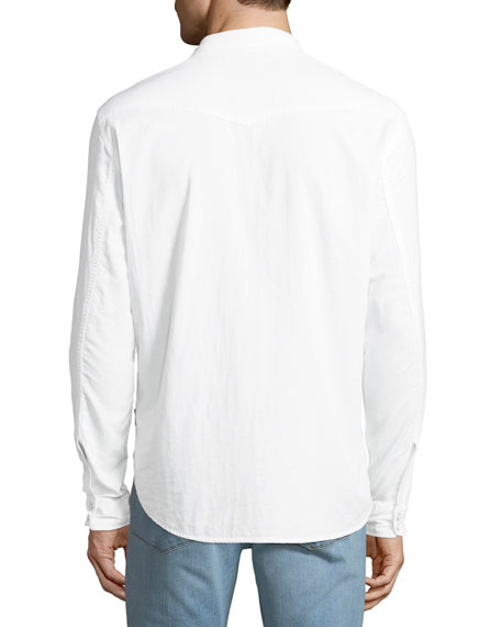 Men's Cotton Western Shirt