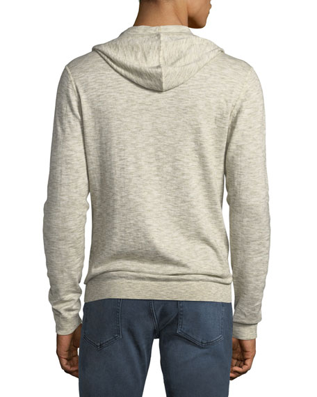Men's Heathered Pullover Hoodie