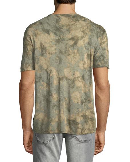 Men's Camo Tie-Dye Jersey T-Shirt