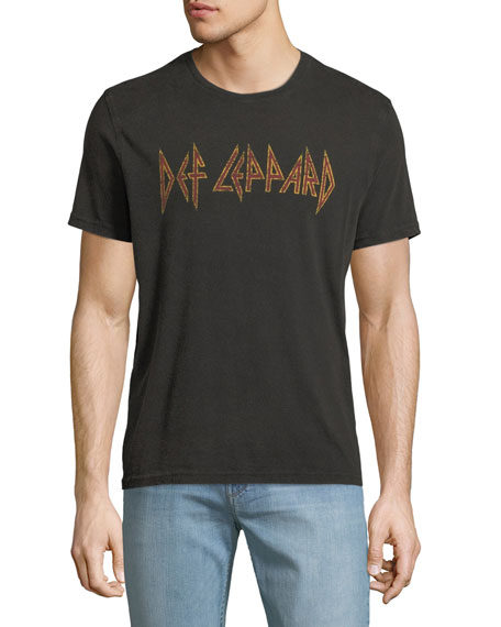 Men's Def Leppard Band Graphic T-Shirt