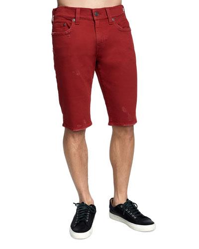 Men's Ricky Straight-Leg Denim Shorts
