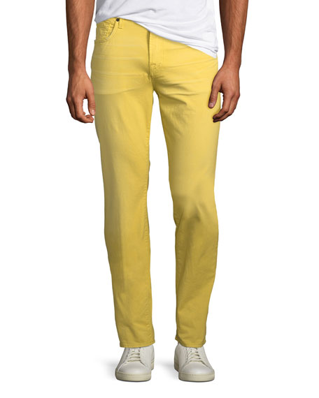 7 for all mankind Men's Adrien Slim Twill