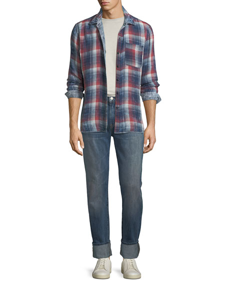 Men's Adrien Straight-Leg Denim Jeans