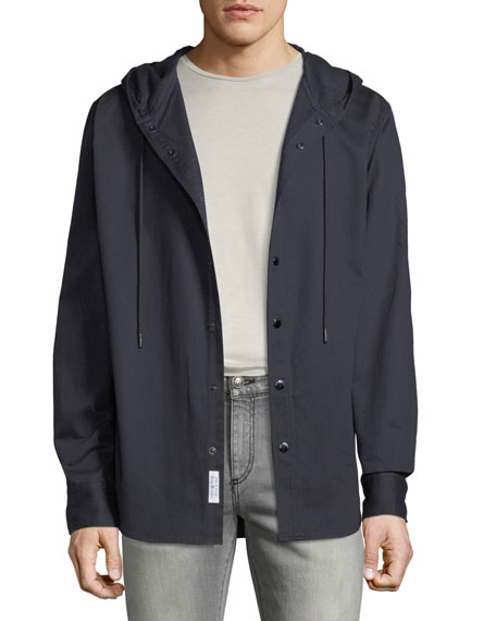 Rag & Bone Men's Bryant Snap-Front Shirt Jacket