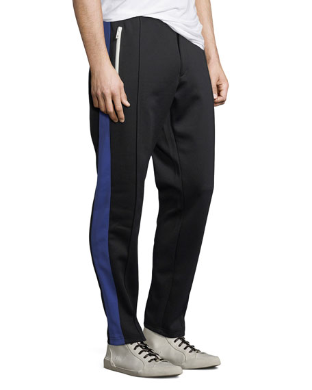Men's Colorblock Side-Stripe Track Pants