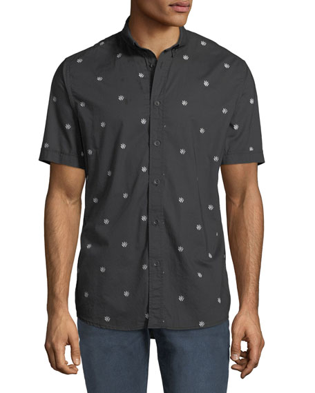 Rag & Bone Men's Smith Dagger-Print Short-Sleeve Sport