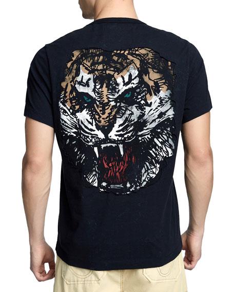 Men's Washed Tiger T-Shirt