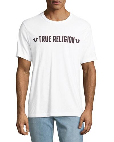 Men's Logo Outline Graphic T-Shirt