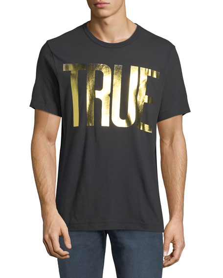 Men's Gold Foil Logo T-Shirt