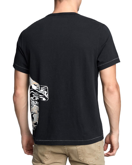 Men's Pop Camo-Logo T-Shirt