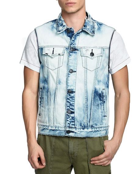 Men's Danny Distressed Denim Jacket