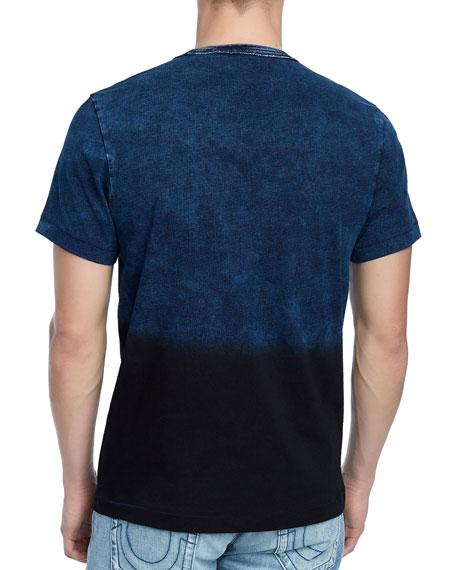 Men's Novelty Dip-Dyed T-Shirt