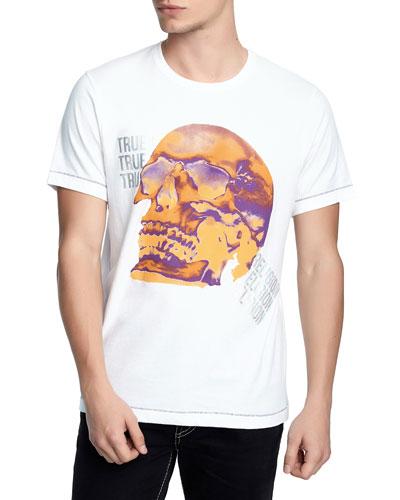 Men's Thermal Skull T-Shirt