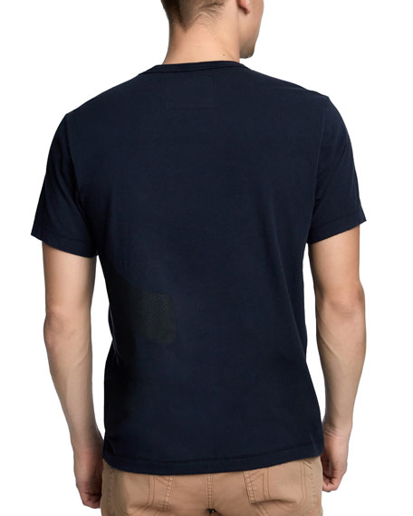 Men's Mesh-Logo T-Shirt