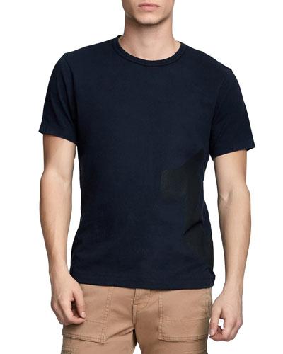 Men's Mesh-Logo T-Shirt