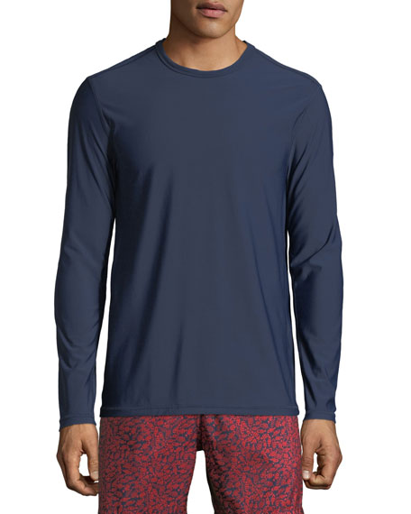 Men's Solid-Knit Rashguard