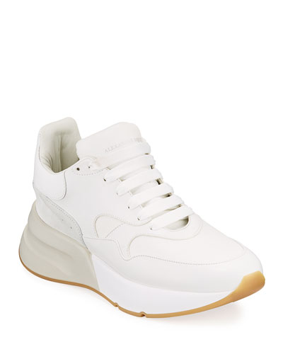 Men's Runway Oversized Leather Runner Sneaker