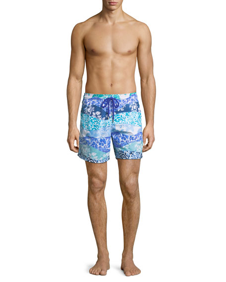 Men's Moorea Vagues Heritage Swim Trunks