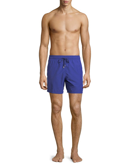Men's Water-Reactive Starfish Swim Trunks