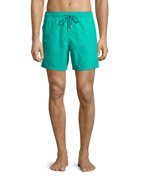 Vilebrequin Men's Hypnotic Turtles Water-Reactive Swim Trunks