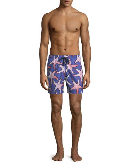 Men's Starfish Art Swim Trunks